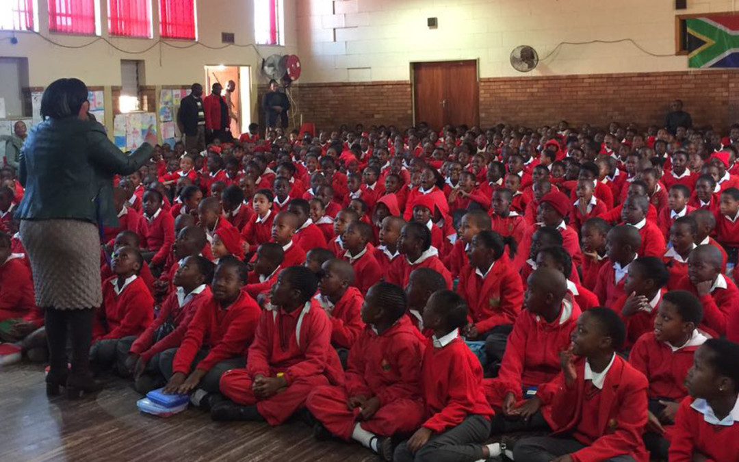 PsySSA donation to Roseneath Primary